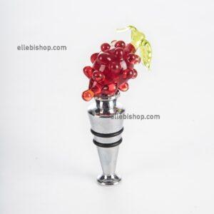 Tappo uva souvenir in vetro di Murano