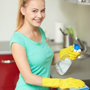 Detergenti ed attrezzature per superfici